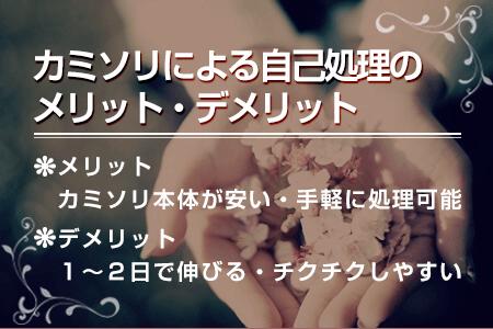 1-1.カミソリ